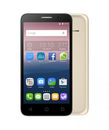 Dual SIM telefón ALCATEL ONETOUCH 4024D PIXI FIRST Gold