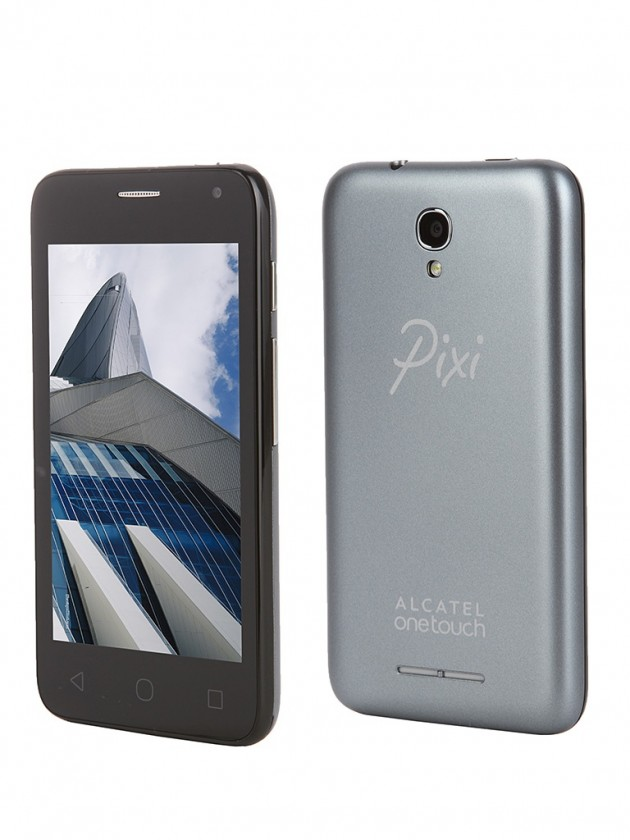 Dual SIM telefón ALCATEL ONETOUCH 4024D PIXI FIRST Slate