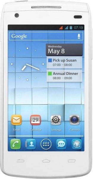 Dual SIM telefón  ALCATEL ONETOUCH 992D White Matt