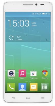 Dual SIM telefón ALCATEL ONETOUCH IDOL X+ (6043D) White