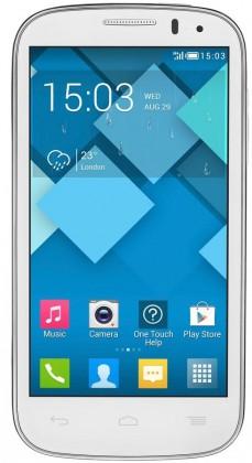 Dual SIM telefón  ALCATEL ONETOUCH POP C5 (5036D) White