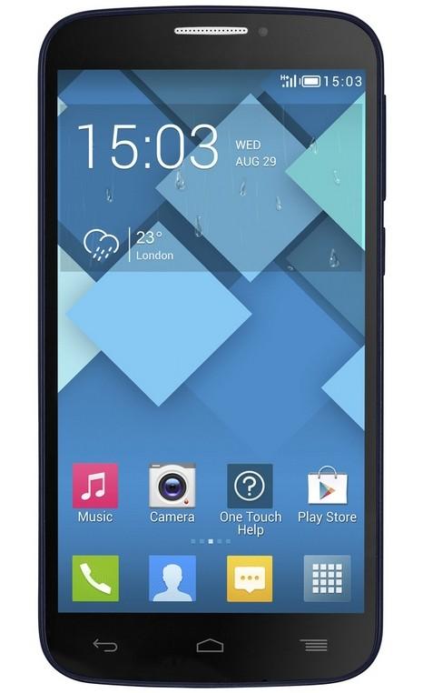 Dual SIM telefón ALCATEL ONETOUCH POP C7 (7041D) Black