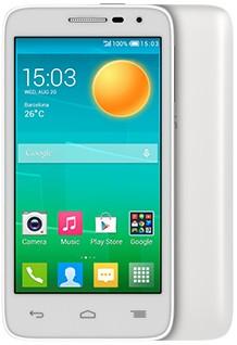 Dual SIM telefón ALCATEL ONETOUCH POP D5 (5038D) White