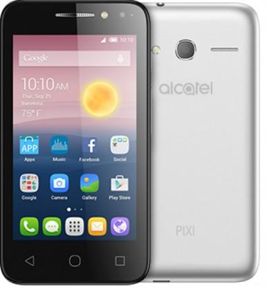 Dual SIM telefón Alcatel OT-5010D PIXI 4, strieborna
