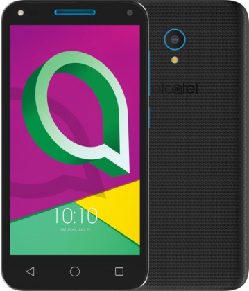 Dual SIM telefón Alcatel U5 3G 4047D Volcano Black/Sharp Blue