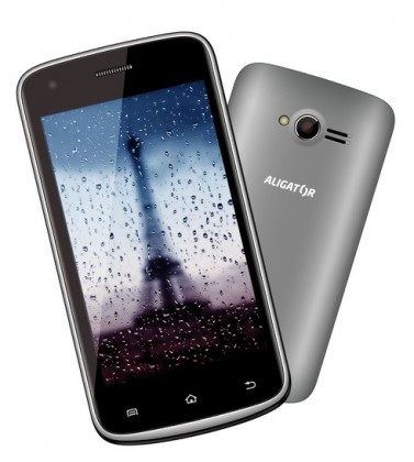 Dual SIM telefón Aligator S4000 Duo Grey ROZBALENO