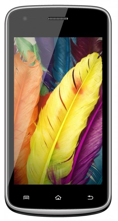 Dual SIM telefón Aligator S4020 Duo Yellow