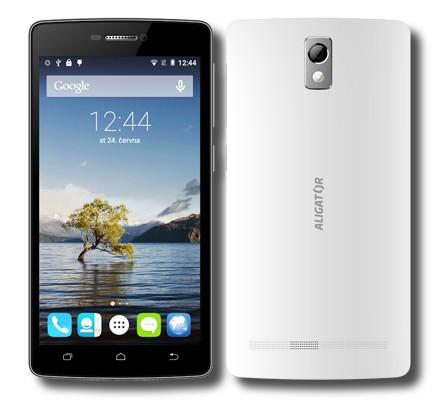 Dual SIM telefón Aligator S5080 LTE White
