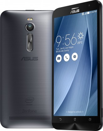 Dual SIM telefón ASUS ZenFone 2 ZE551ML 32GB Glacier Gray