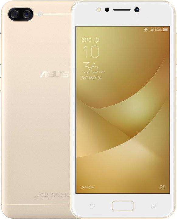 Dual SIM telefón ASUS ZF4 MAX ZC520KL SD425/32G/3G/AN zlatý