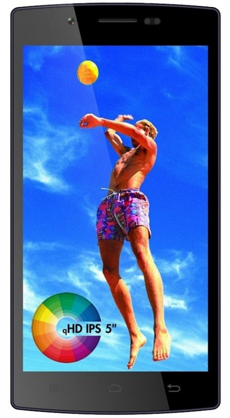 Dual SIM telefón Cube1 G503 (Dual SIM) Black ROZBALENO