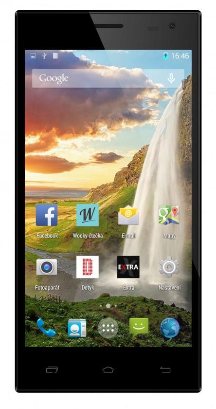Dual SIM telefón Cube1 K55 (Dual SIM) Black ROZBALENÉ