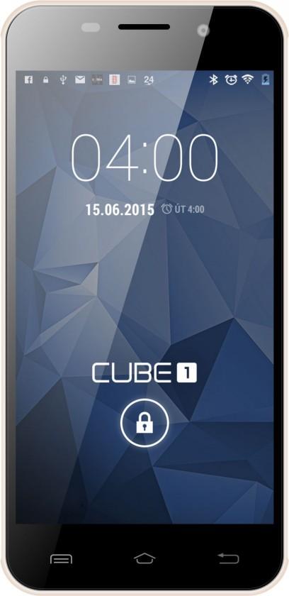 Dual SIM telefón CUBE1 M400 Champagne