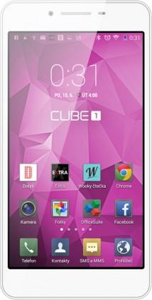 Dual SIM telefón CUBE1 S31 White