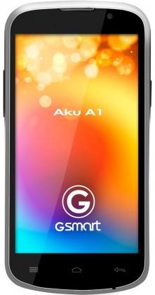 Dual SIM telefón  Gigabyte GSmart AKU A1 White