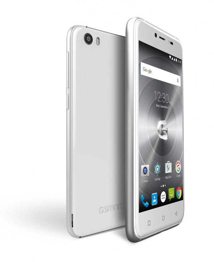 Dual SIM telefón GIGABYTE GSmart CLASSIC LTE, bílý
