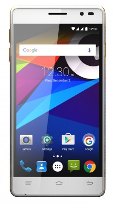 Dual SIM telefón GIGABYTE GSmart ELITE LTE Biela
