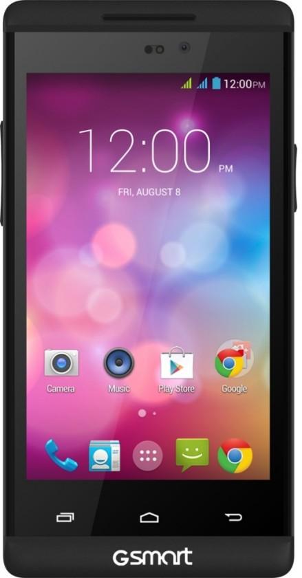 Dual SIM telefón Gigabyte GSmart ROMA R2 PLUS Black ROZBALENO