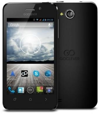Dual SIM telefón  GoClever Quantum 4 Black
