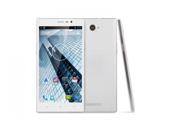 Dual SIM telefón GOCLEVER Quantum 600 Dual SIM; white ROZBALENÉ