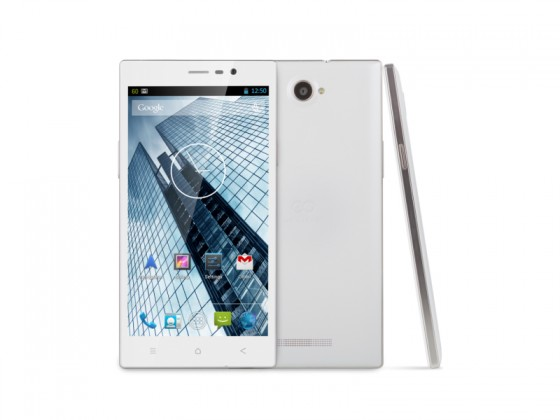 Dual SIM telefón GOCLEVER Quantum 600 Dual SIM; white VADA VZHĽADU, ODRENINY