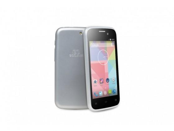 Dual SIM telefón GOCLEVER Quantum2 400 Dual SIM; silver