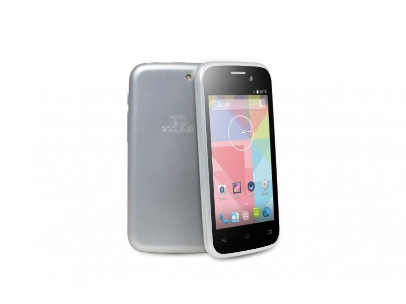 Dual SIM telefón GOCLEVER Quantum2 400 Dual SIM; silver ROZBALENÉ