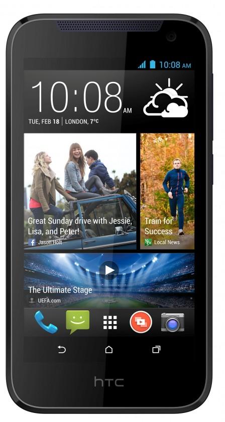Dual SIM telefón HTC Desire 310 (V1) DualSim, modrá