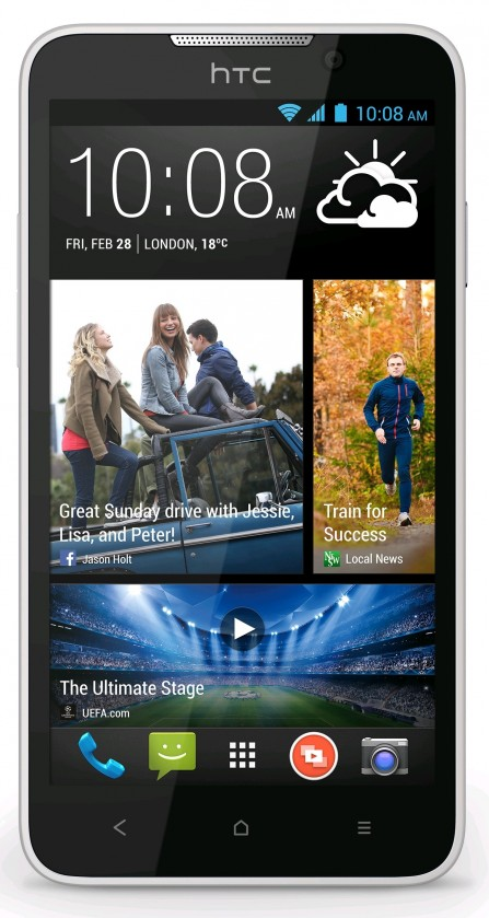 Dual SIM telefón HTC Desire 516 (V2) dual SIM - Pearl White