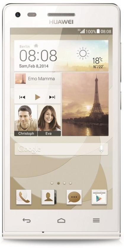 Dual SIM telefón HUAWEI G6 White