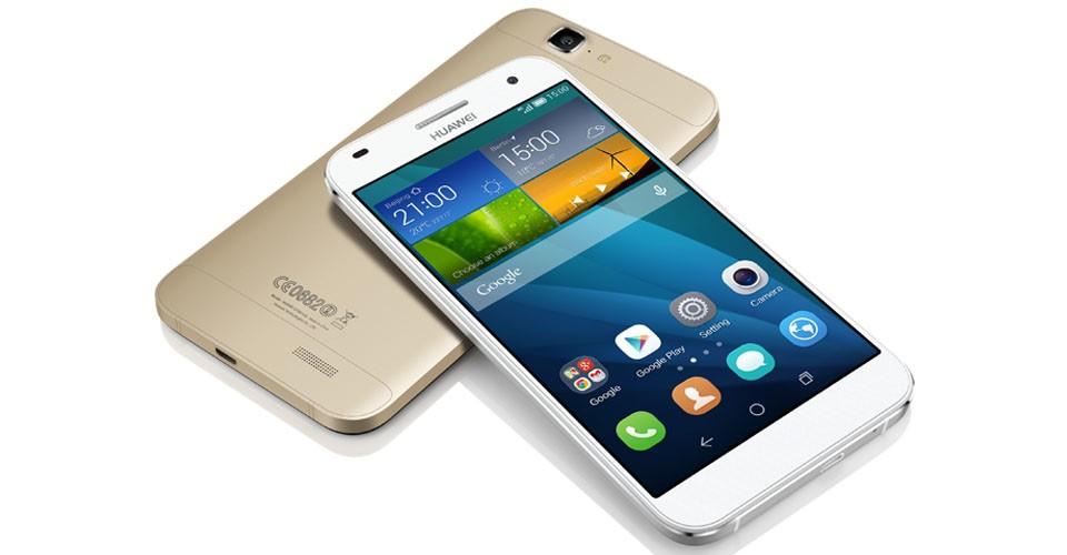 Dual SIM telefón HUAWEI G7 Gold