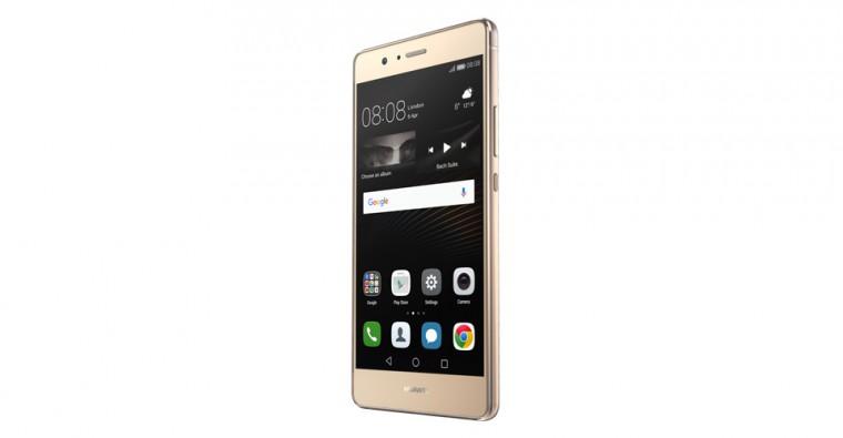 Dual SIM telefón Huawei P9 Lite Dual SIM, zlatá