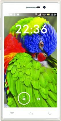 Dual SIM telefón iGET Blackview Arrow, zlatá