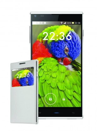 Dual SIM telefón Iget Blackview DM550 VADA VZHĽADU, ODRENINY