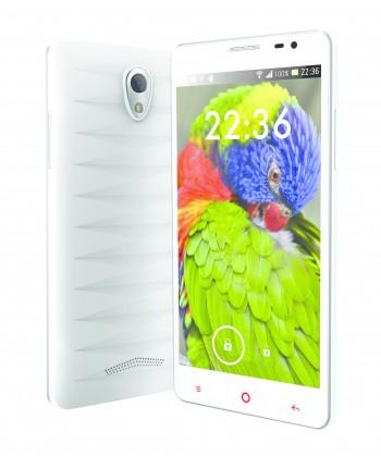 Dual SIM telefón IGET Blackview V3 White ROZBALENÉ