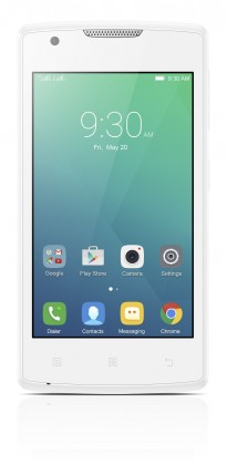 Dual SIM telefón Lenovo A White