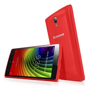 Dual SIM telefón LENOVO A2010 Červená