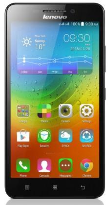 Dual SIM telefón Lenovo  A5000  black ROZBALENÉ