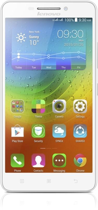 Dual SIM telefón Lenovo A5000 White Dual SIM ROZBALENÉ