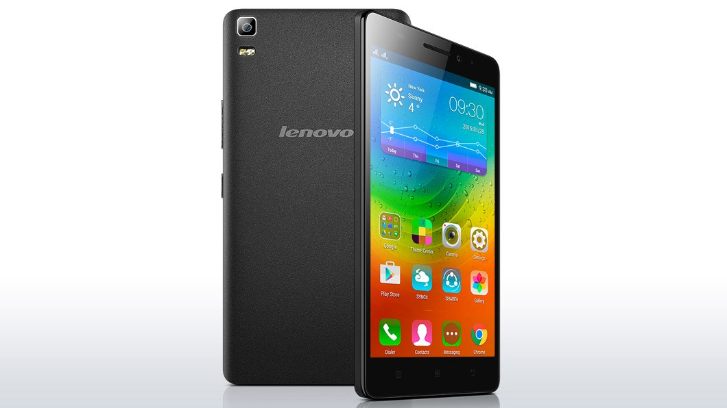 Dual SIM telefón Lenovo A7000 5,5# MT6752m/2GB/8GB/LTE/An5 černý