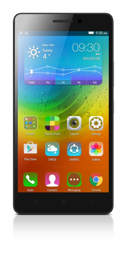 Dual SIM telefón Lenovo A7000 PA030034RO Black POUŽITÝ, NEOPOTREBOVANÝ TOVAR