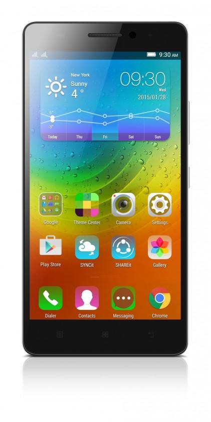 Dual SIM telefón Lenovo A7000 White