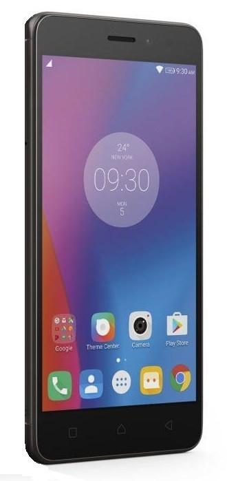 Dual SIM telefón Lenovo K6 Dual Note K53, sivá