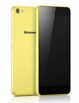 Dual SIM telefón LENOVO S60 Žltá