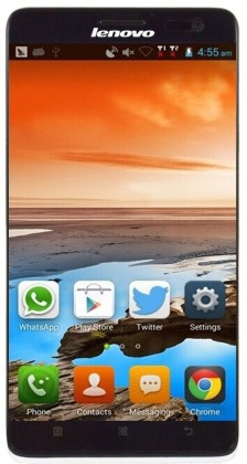 "Dual SIM telefón LENOVO S856 Quad-core 1.2Ghz, 5.5"" HD IPS, Dual-Sim, 1GB, 8GB, An"