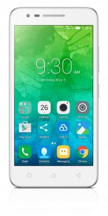 Dual SIM telefón Lenovo Vibe C2 biela