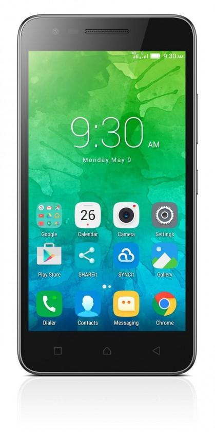 Dual SIM telefón Lenovo Vibe C2 čierna