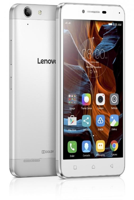 Dual SIM telefón Lenovo Vibe K5 Plus Strieborný