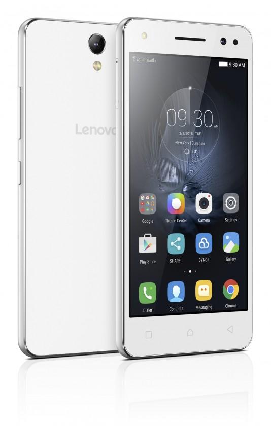 Dual SIM telefón Lenovo Vibe S1 Lite Dual SIM biela