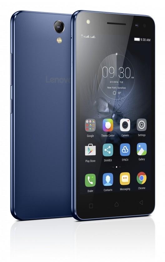 Dual SIM telefón Lenovo Vibe S1 Lite Dual SIM modrá
